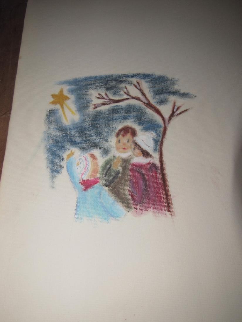 Pastel Drawings - 3