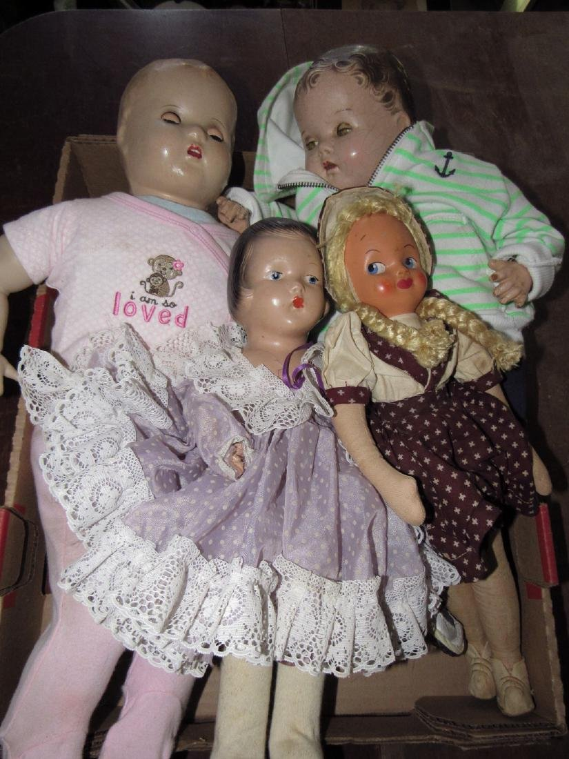 4 Antique / Vintage Dolls