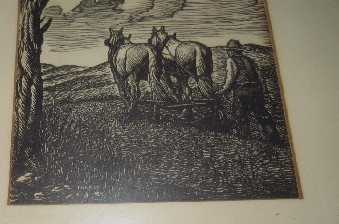 Lankes Working Mules Print - 3