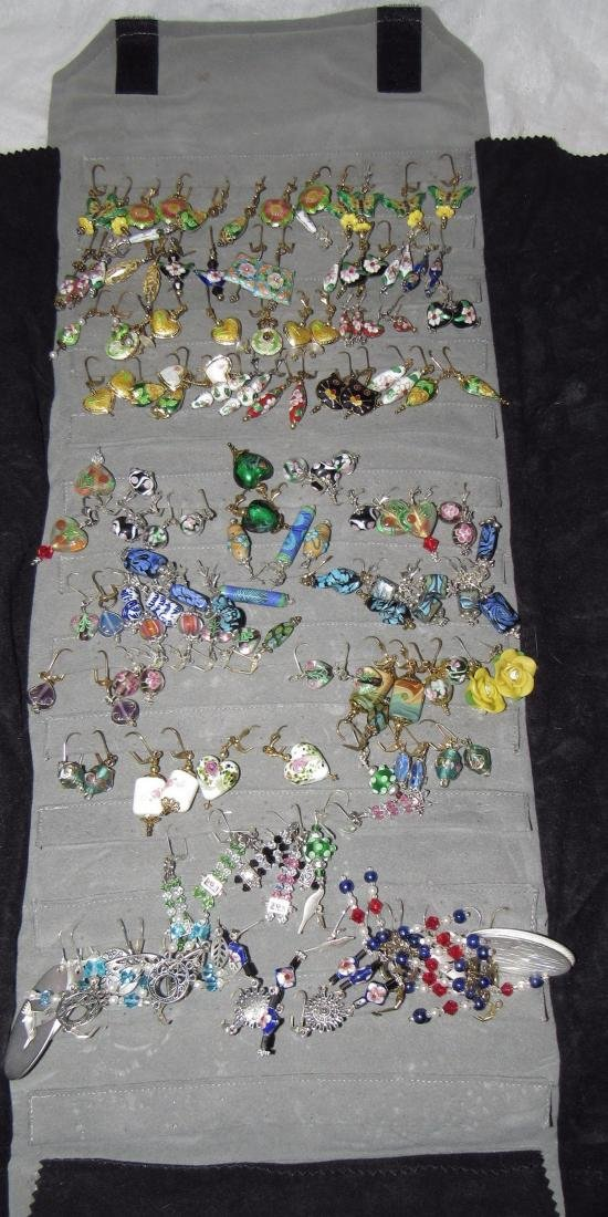 Large Lot of Hand Made Costume Jewelry