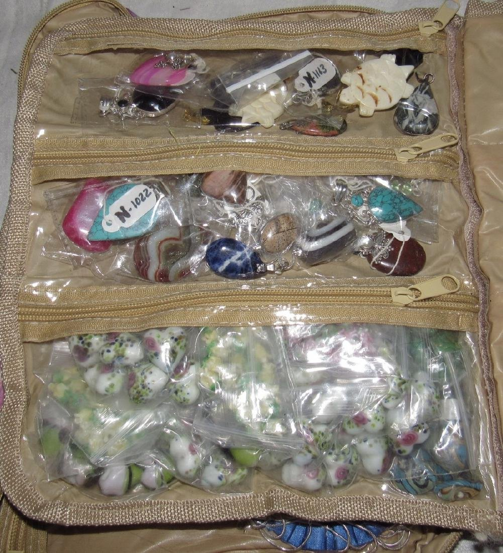 Lot of Costume Jewelry and Parts - 2