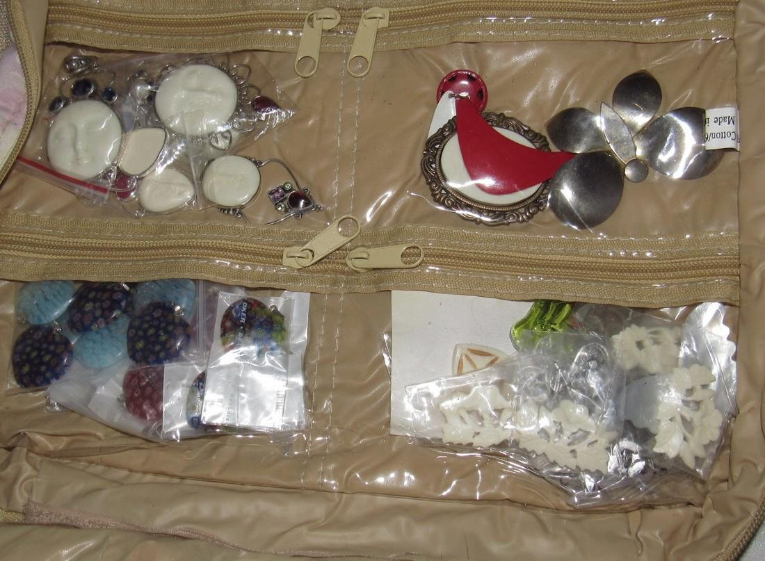 Lot of Costume Jewelry and Parts - 5