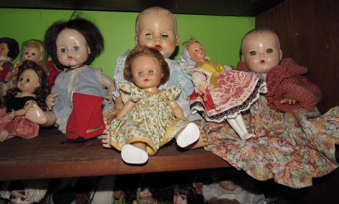 Lot of Antique & Vintage Dolls