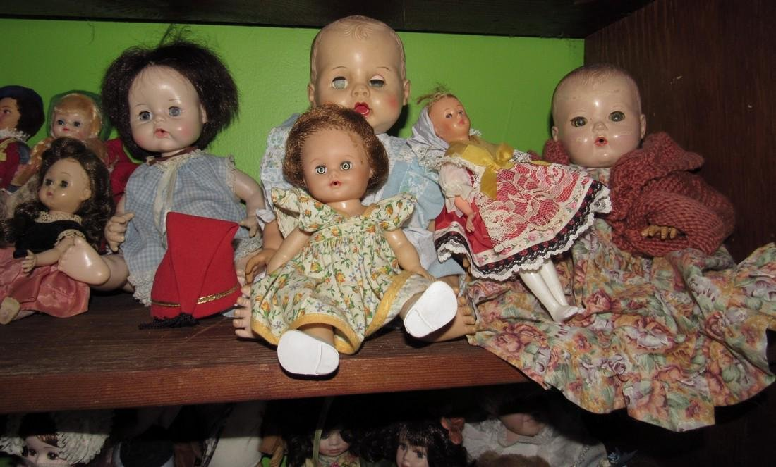 Lot of Antique & Vintage Dolls