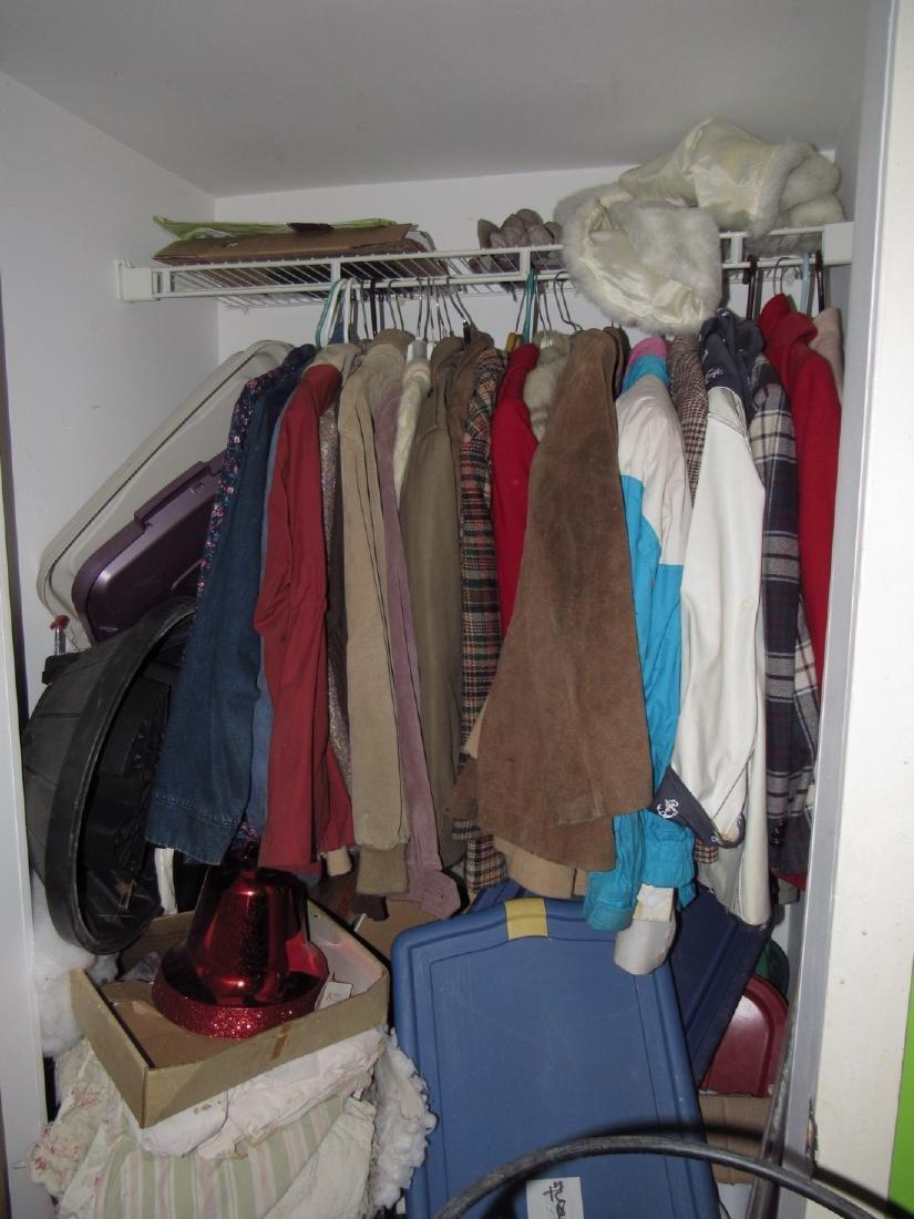 Clothing Coats Jackets Closet Lot