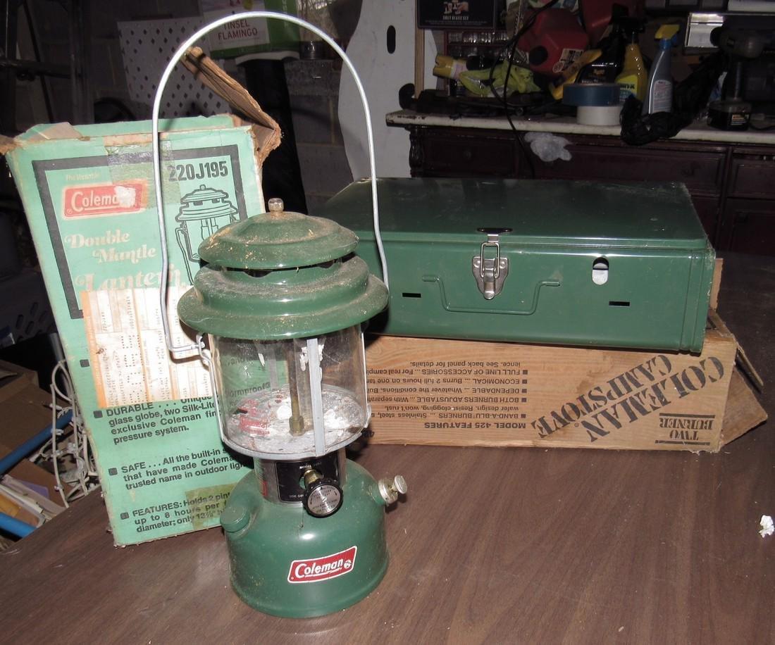 1979 Coleman 220J Lantern and Campstove