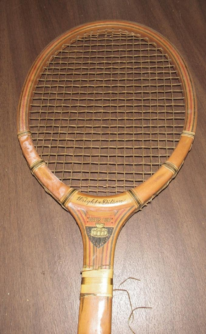 Wright & Ditson Davis Cup Tennis Racquet - 4