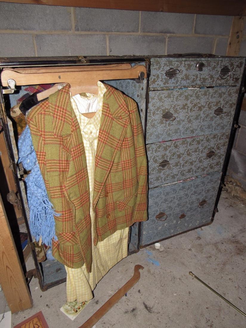 Wardrobe Trunk & Contents
