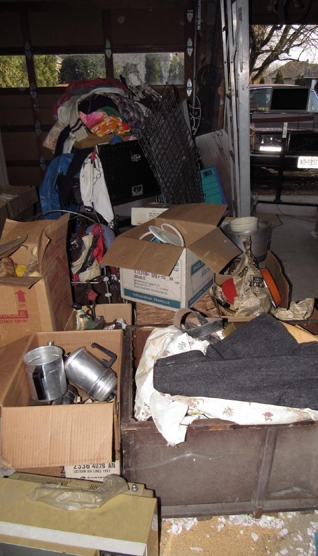 Middle Floor of Garage Contents
