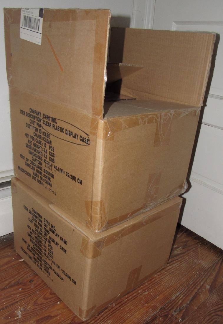 24 New Ty Beanie Babie Cases