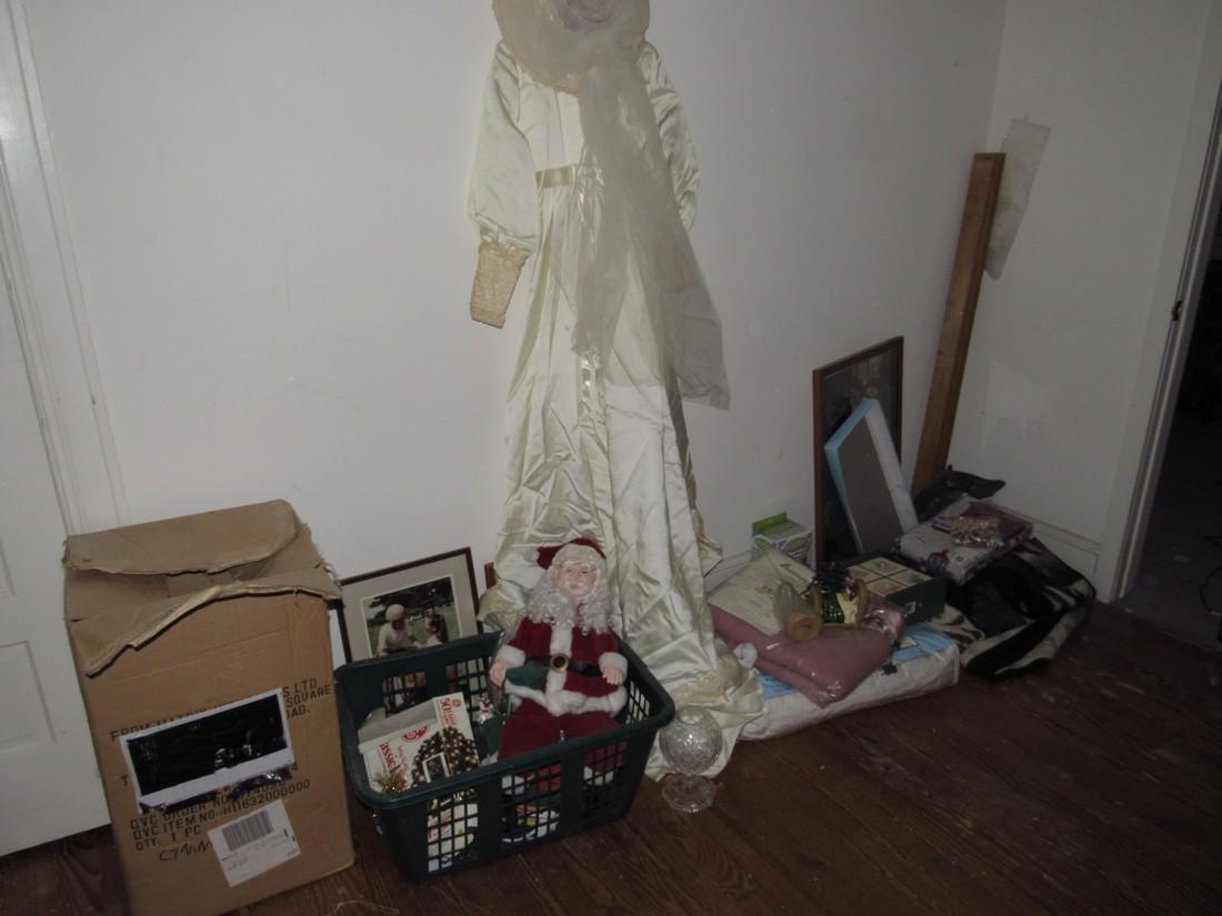 Wedding Dress Blankets Christmas Taunton Crystal