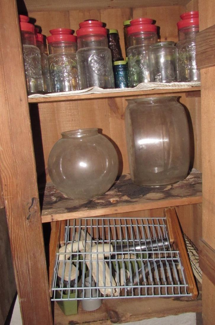 Ceramics & Misc Cabinet Lot - 6