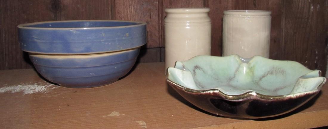 Mixing Bowl Miniature Crocks Ashtray