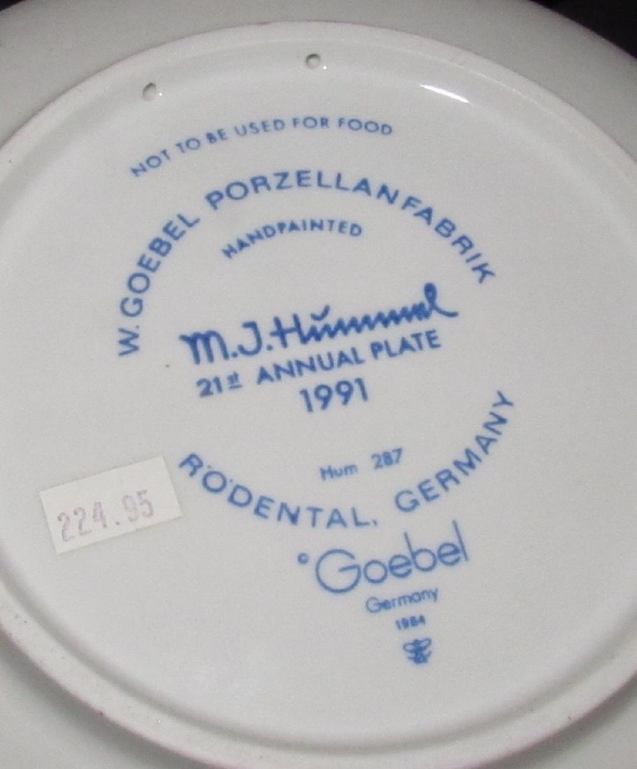 4 Hummel Collector Plates - 2