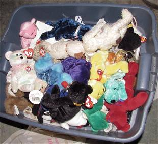 Tote Full of Beanie Babies