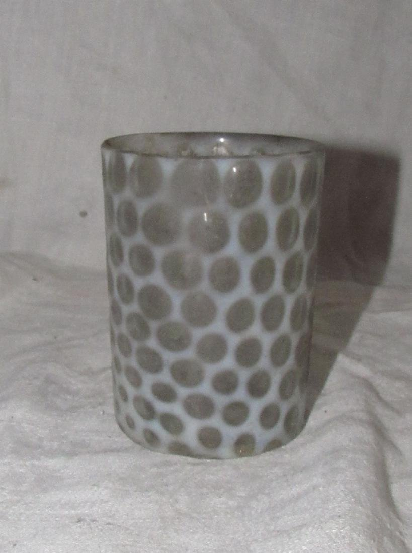 Fenton Opalescent Dot Drinking Cup