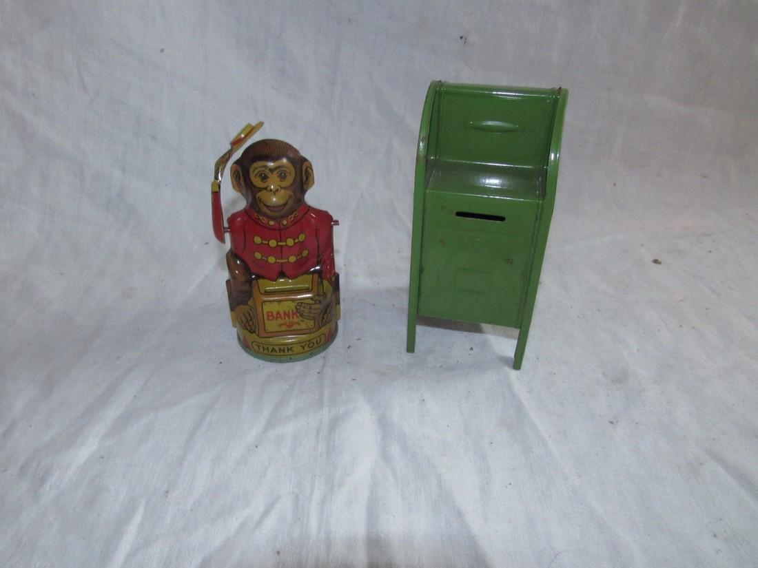 Chein Monkey & Mailbox Postal Bank