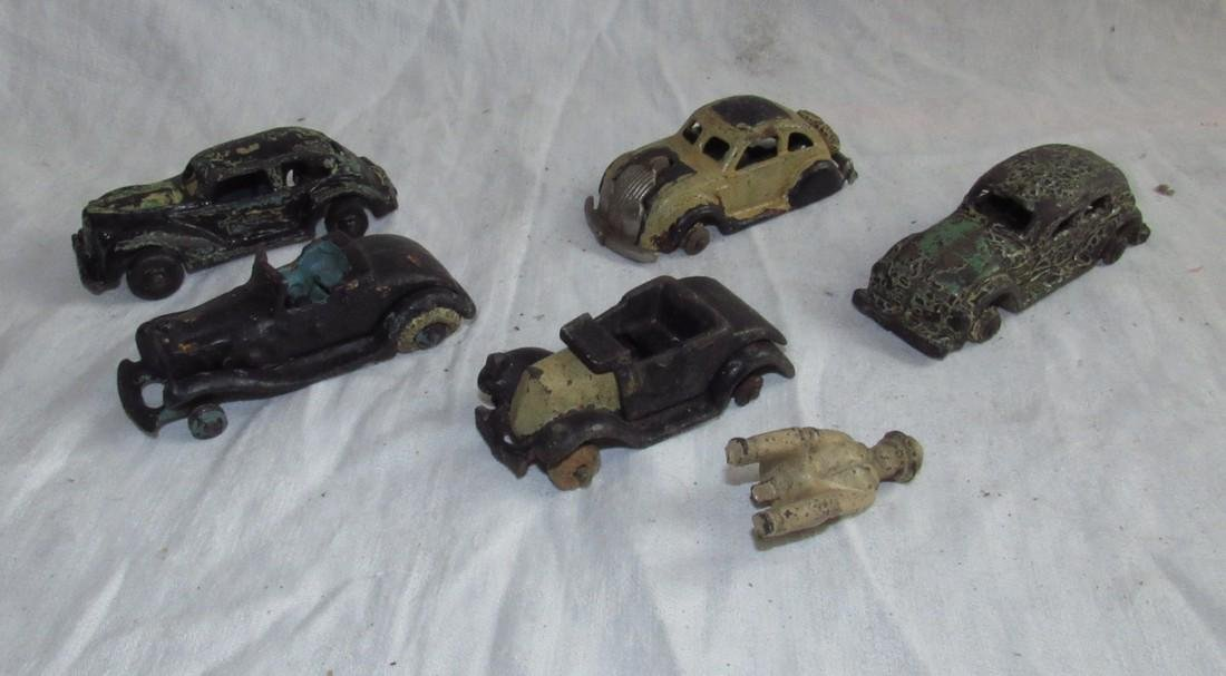 Antique Cast Iron Toy Cars
