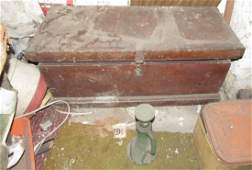 Antique Tool Box and Contents