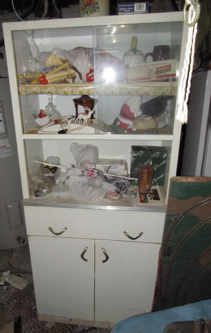 Kitchen Cabinet Christmas Items & Misc