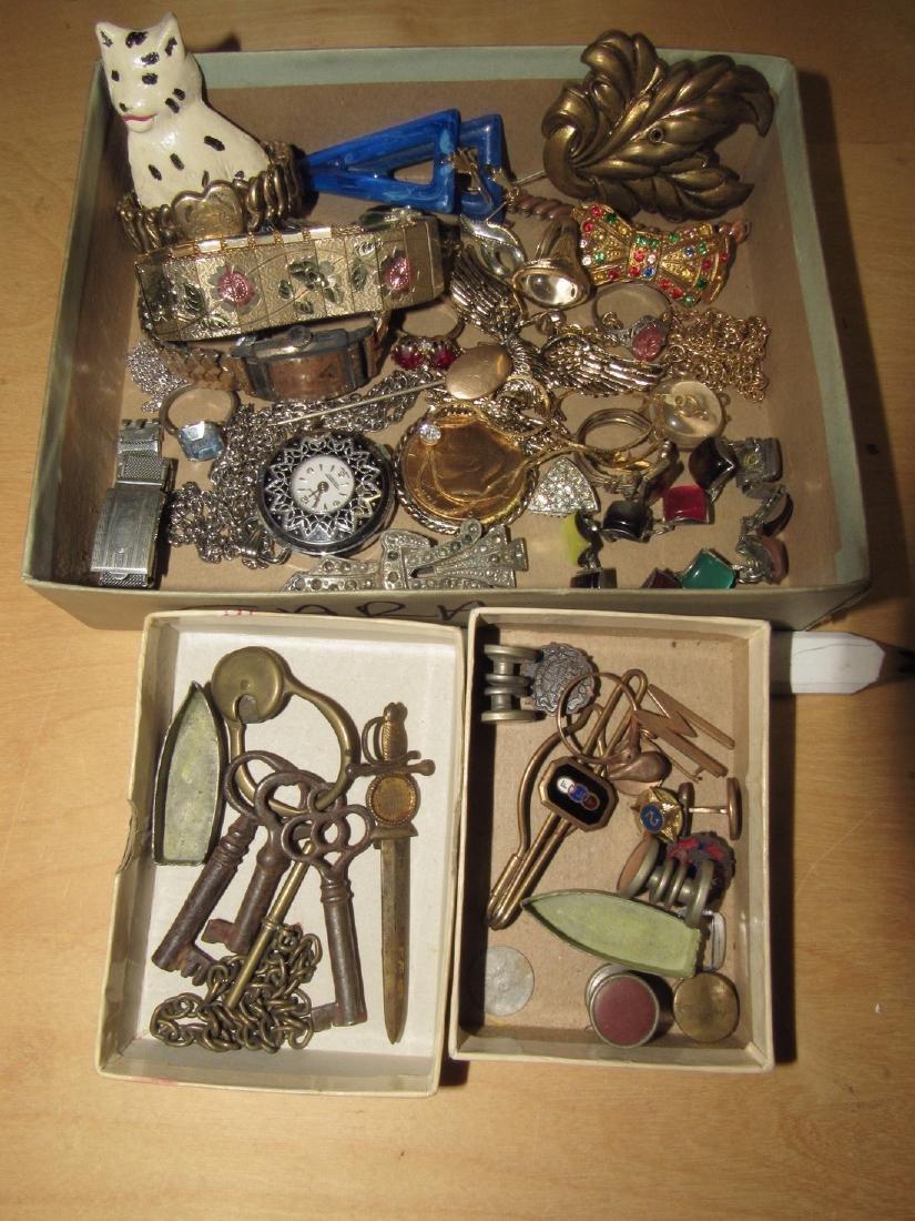 Vintage Costume Jewelry Watches Bracelets