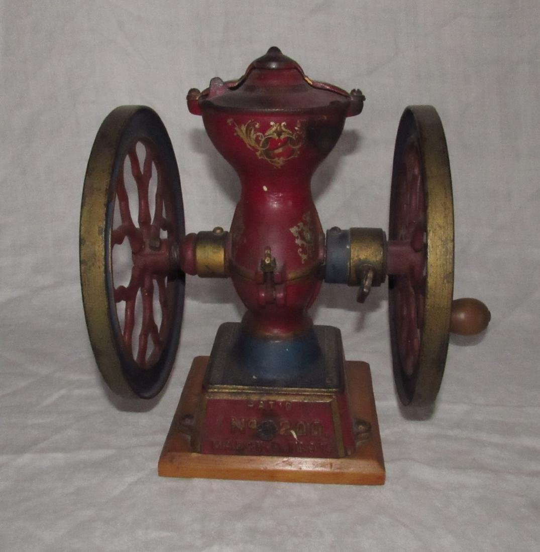 Parker No. 200 Coffee Grinder in Original Paint