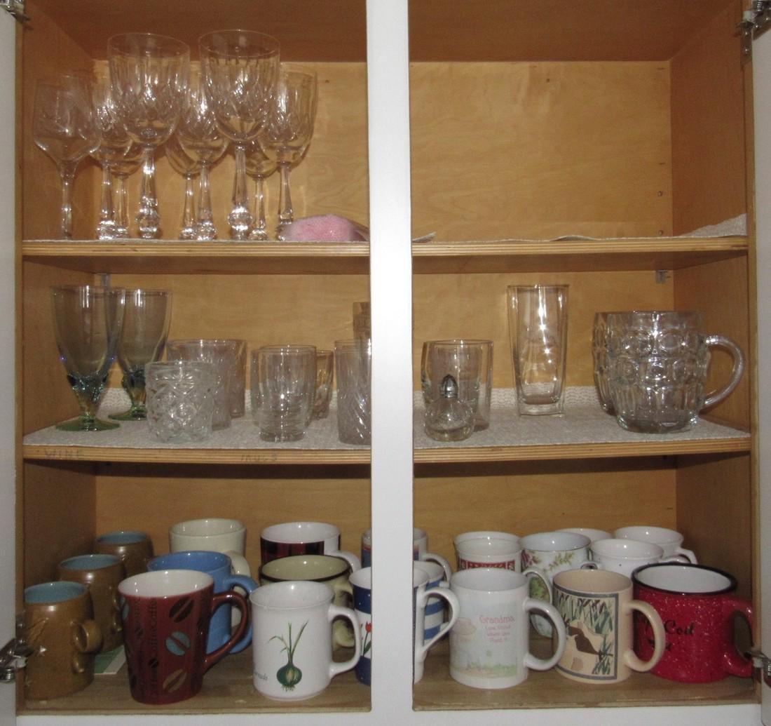 Stemware Cut Glass Wine Glasses