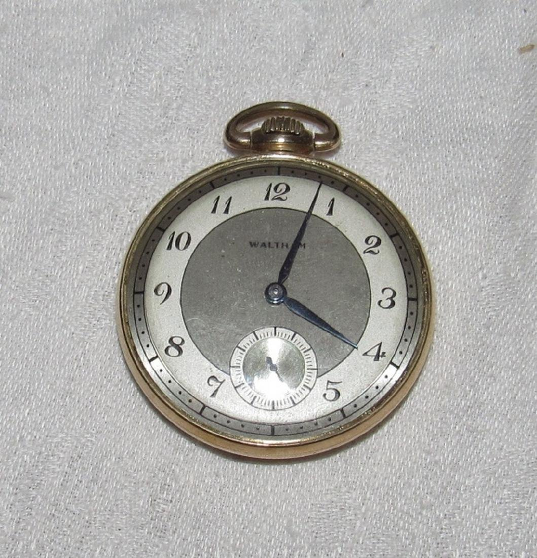 Colonial Waltham 10K Gold Filled Pocket Watch