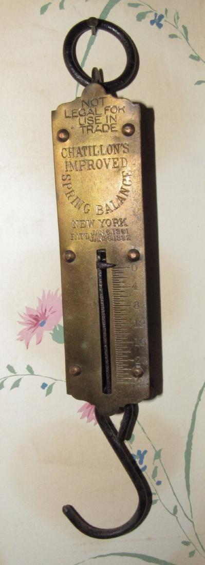 Chatillon 25 pound Scale