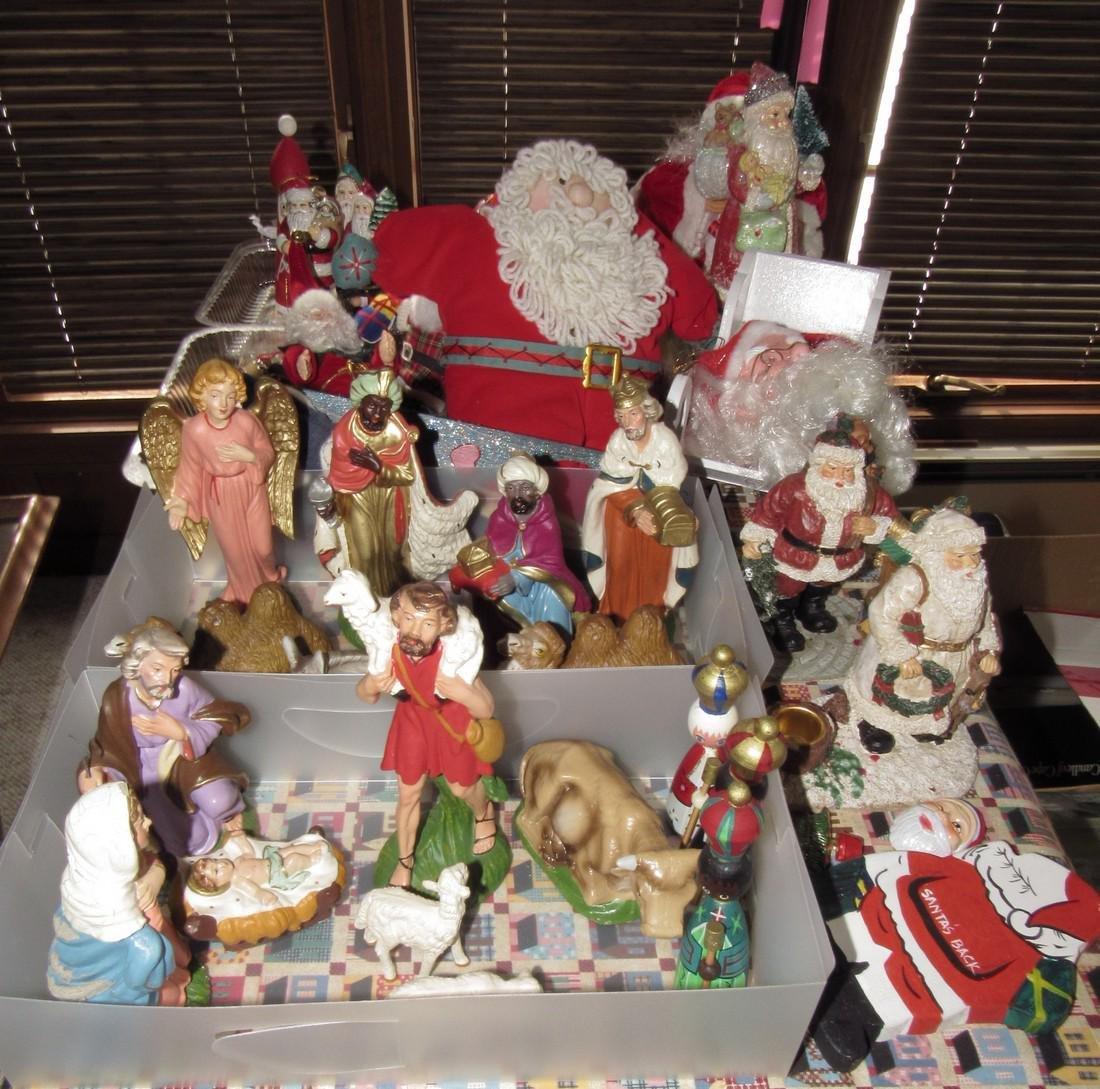 Misc Christmas Ornament Decorations Nativity