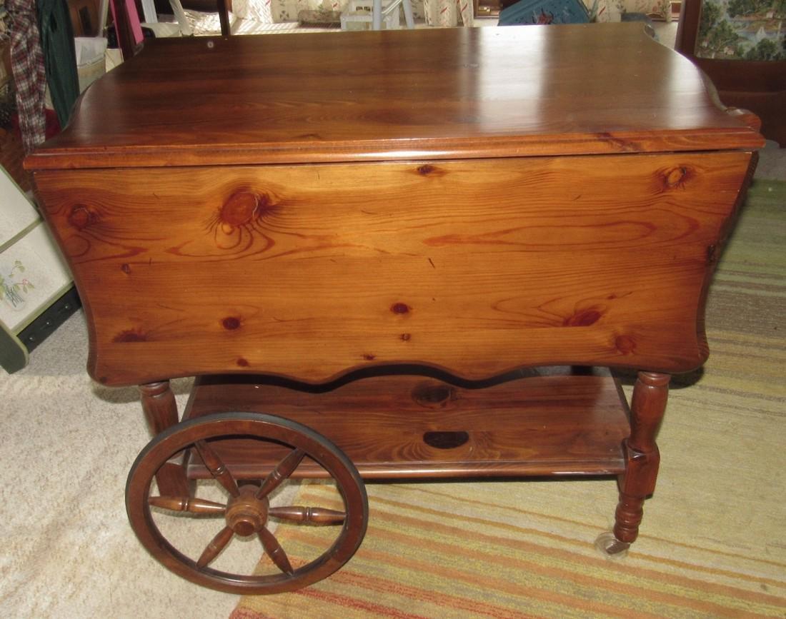 Rolling Tea Cart