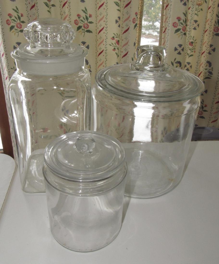 3 Candy Jars