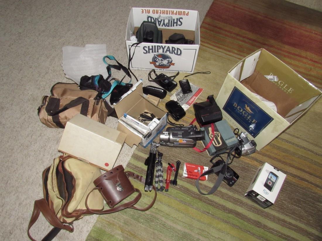 Vintage Cameras Cases Tripods Digital