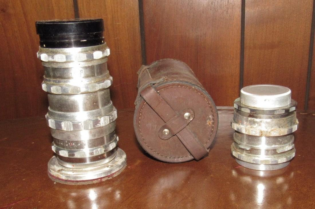 Will Wetzlar Travener A. Schacht Camera Lenses