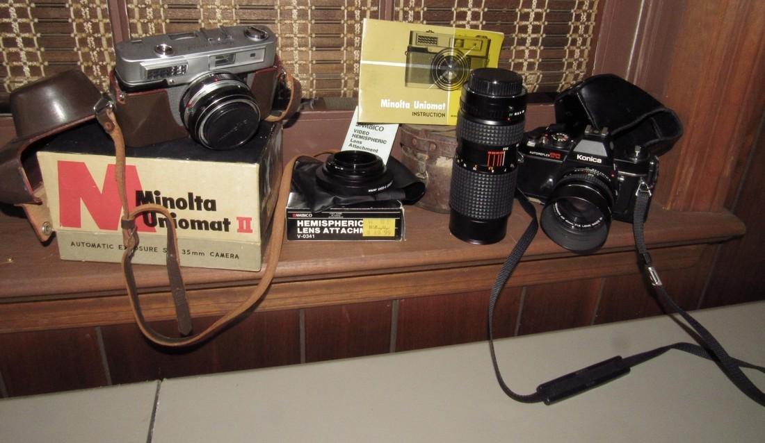 Ambico Hemispheric Osawa Lens Konica Minolta Camera
