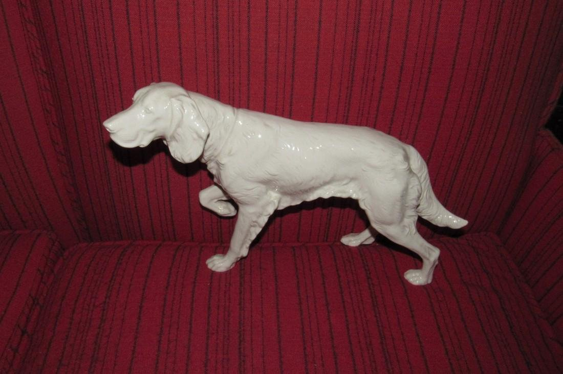 Kent Art Ware Irish Setter Porcelain Pointer Dog