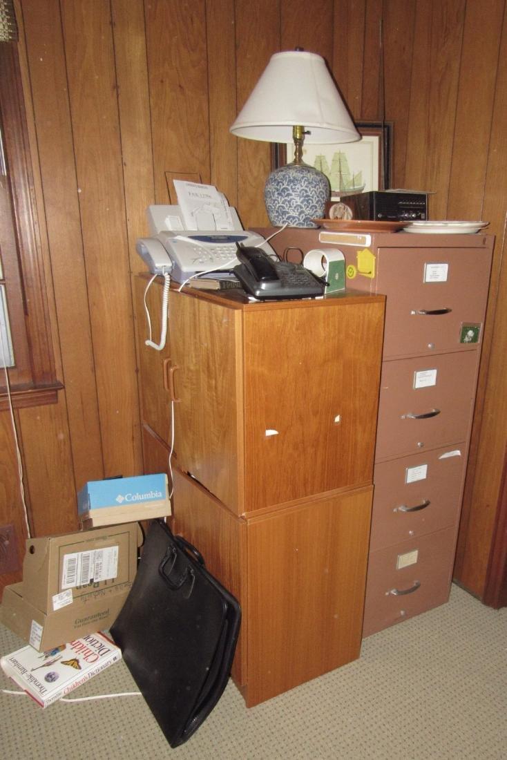 File Cabinet Fax Machine Scanner Lamp Print