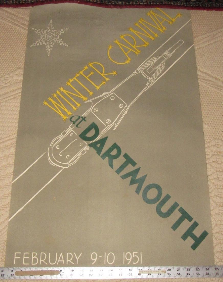 Dartmouth Winter Carnival Poster Stevenson Flamer