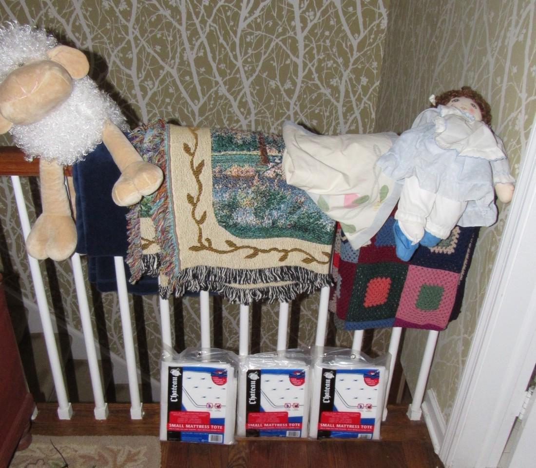 Doll Blankets Mattress Totes