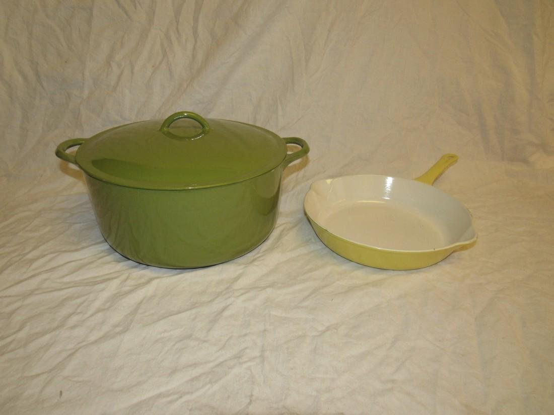Descoware Enamel Dutch Oven & Skillet