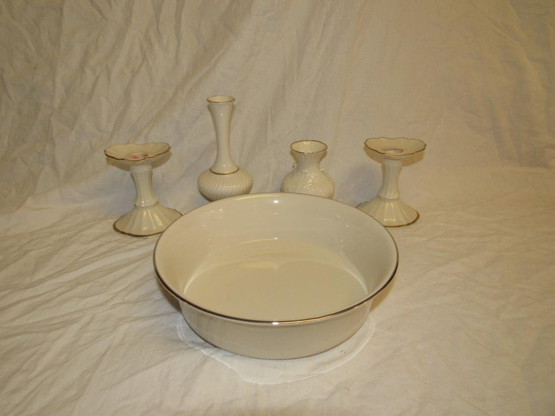 Lenox Bowl Vases Candle Holders