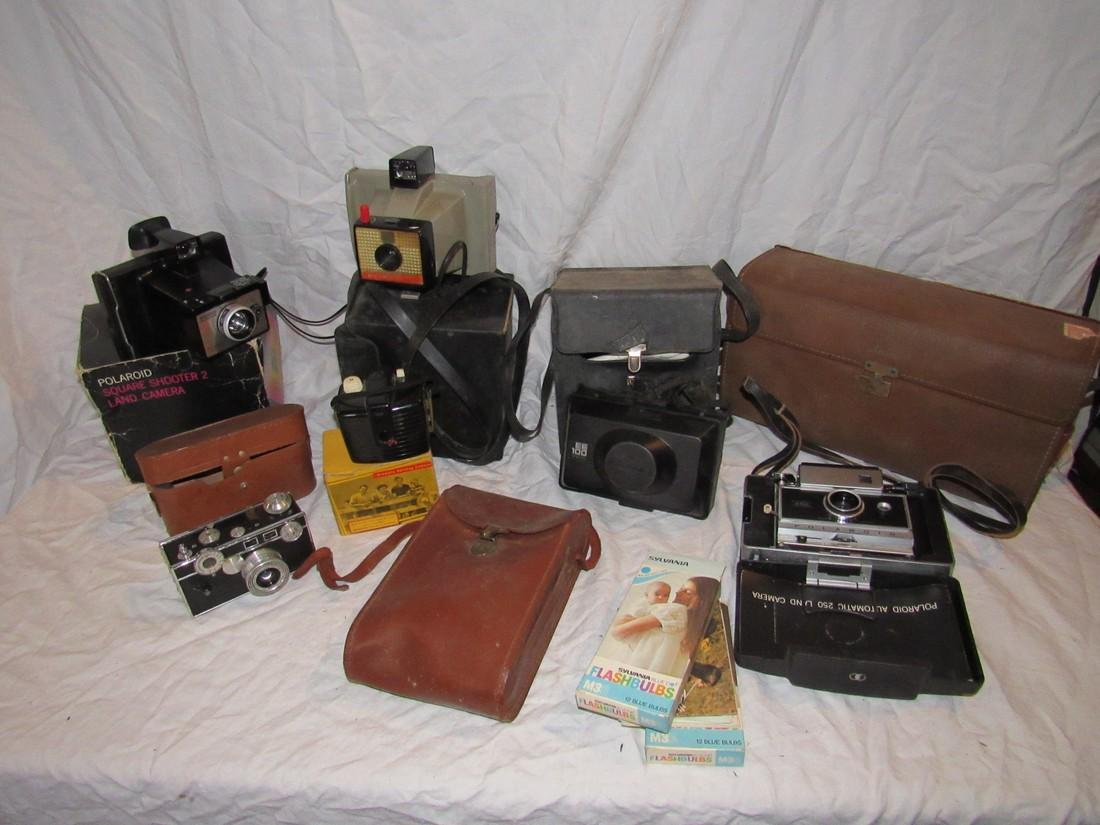 Argus Polaroid Square Shooter Kodak Brownie Cameras