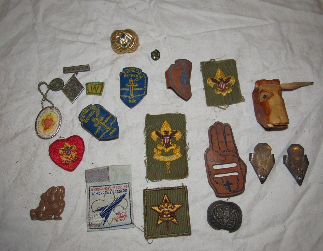 Boy Scout Patches Pins & Misc