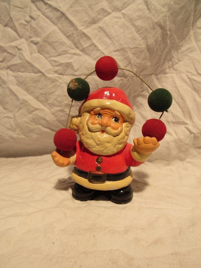 1981 Enesco Santa Claus Christmas Ceramic