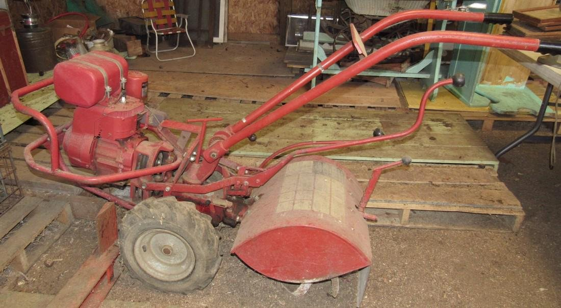 Troy Bilt Horse Tiller Log Splitter & Plow