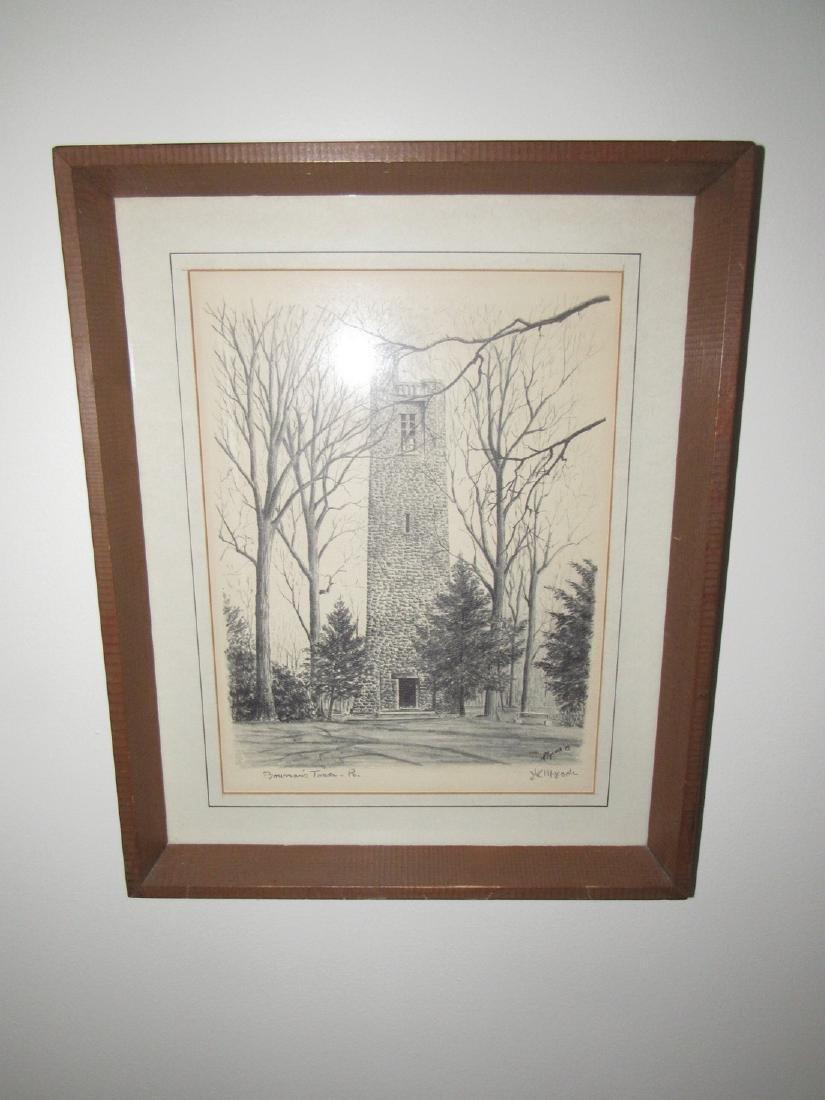Bowman's Tower Pa Print