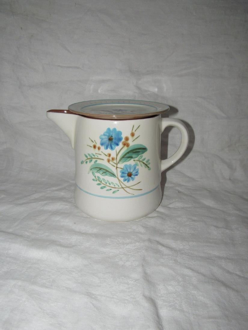 Stangl Pitcher & Plate