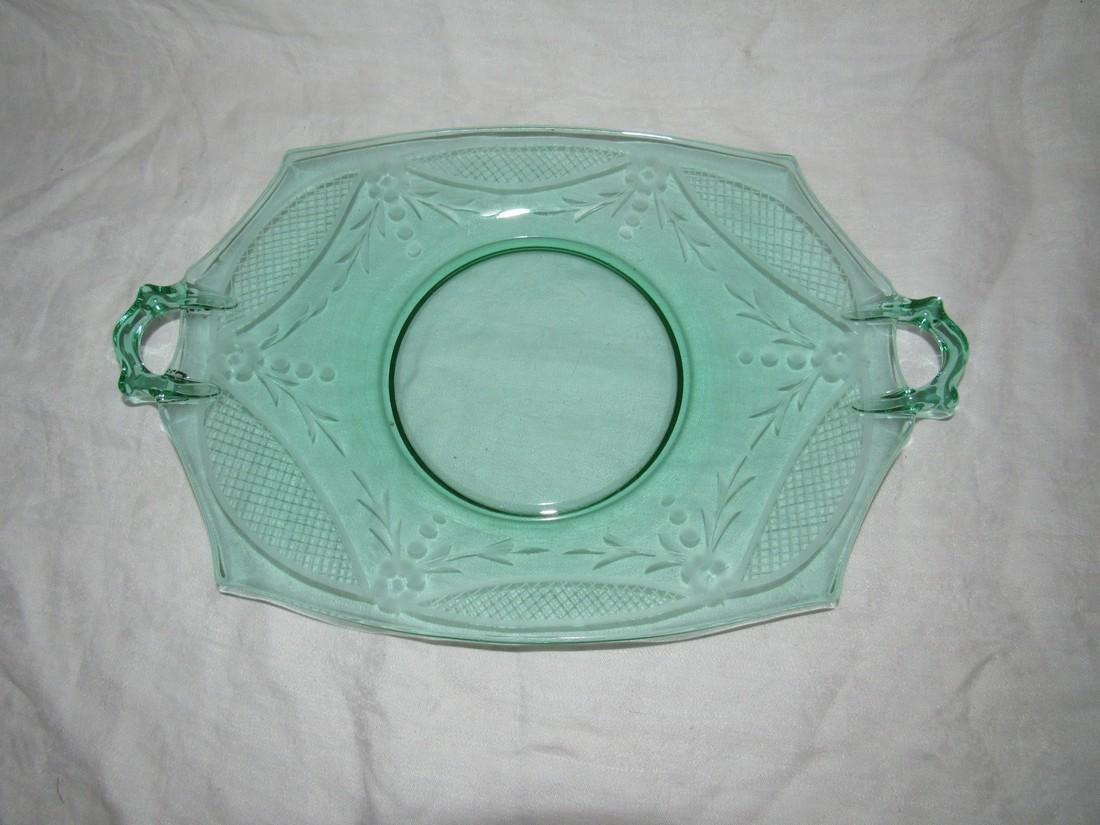 Depression Glass Platter