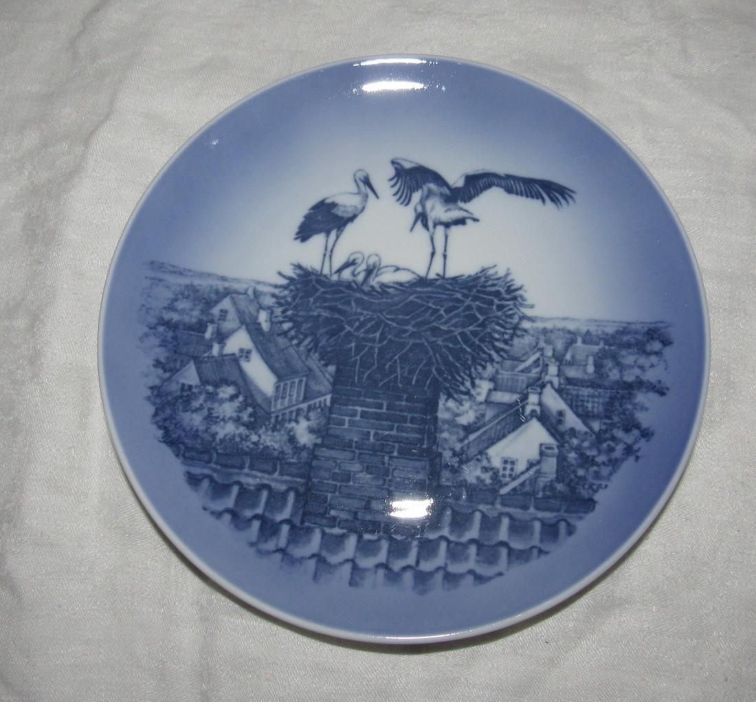 Royal Copenhagen Storkerede Stork Plate