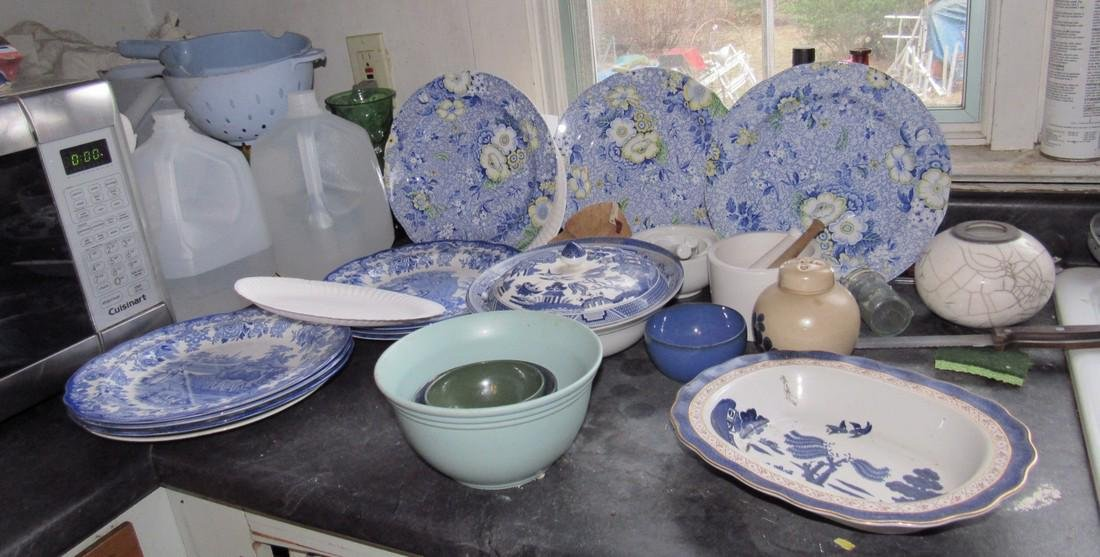 Contents of Kitchen Spode Royal Daulton Johnson Bros